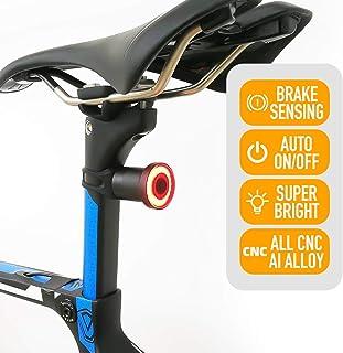 ENFITNIX Luces traseras de bicicleta Xlite 100 USB Recargable Luz Trasera Detección de Frenado Automático LED Luz Inteligente Luz Trasera IPX6 Impermeable Noche Advertencia Ciclismo Bicicleta Linterna