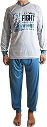 Pyjama pour Hommes en Coton Gras, Ensemble Pyjama