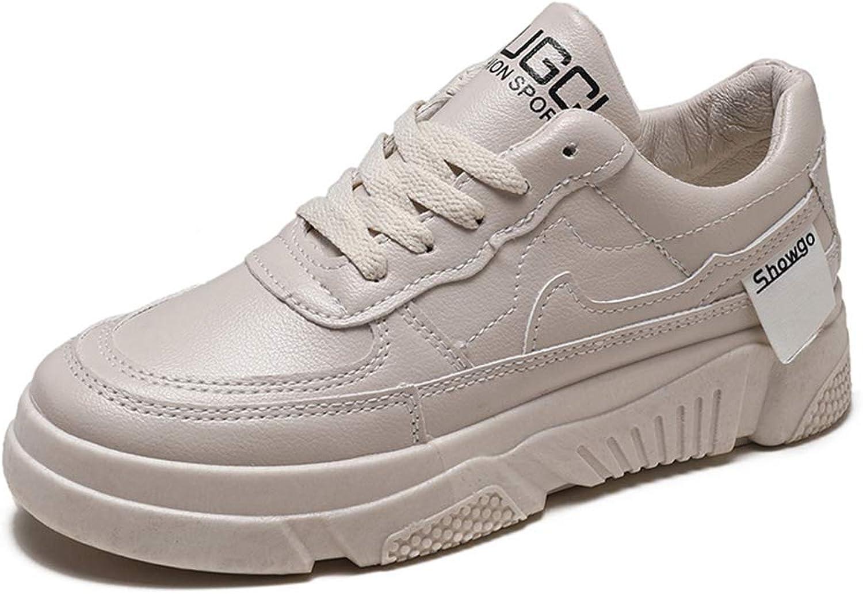 Smart.A Women's shoes Casual shoes Wild lace White shoes