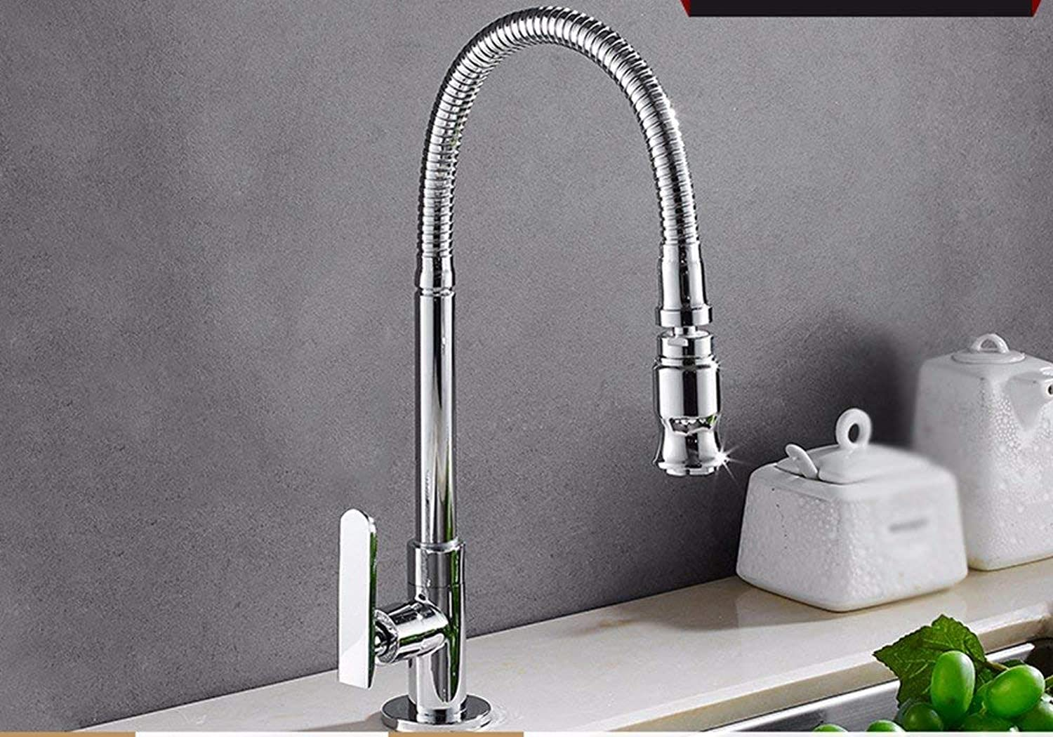 Oudan Basin Mixer Tap Bathroom Sink Faucet Copper, into the wall, and a cold, kitchenette with sink, redation, sink mixer 3 (color   4)