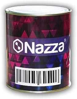 Esmalte Sintético Nazza con Poliuretano - Variedad de Colores - Uso interior y exterior - Rápido secado - COLOR NEGRO SATI...