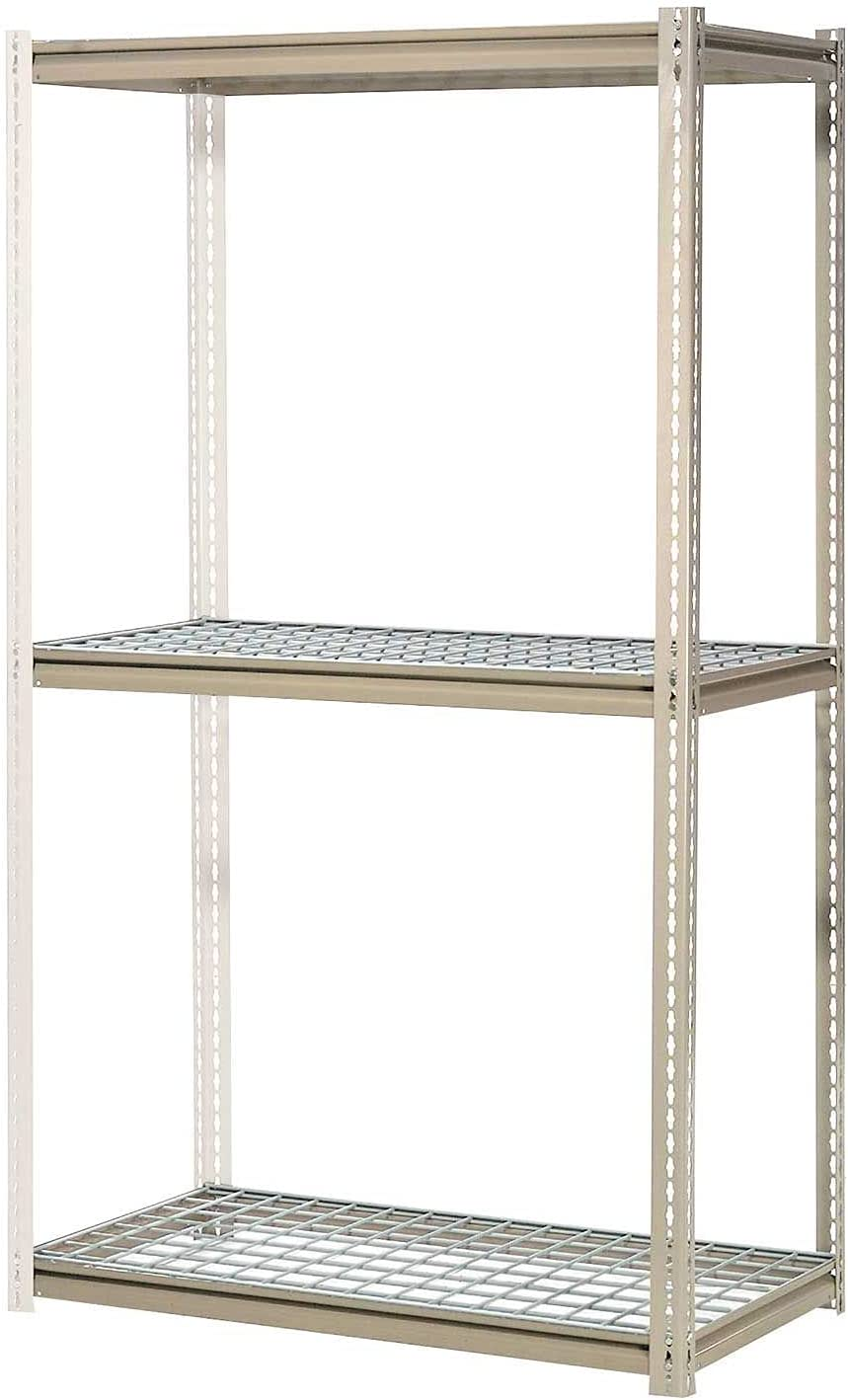 High Capacity Arlington Mall Add-On Rack With 3 Levels Lb Wire 1300 P Tulsa Mall Cap Deck