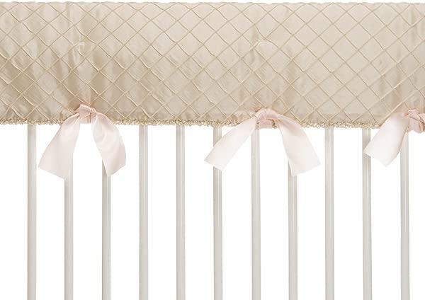 Glenna Jean Contessa Crib Rail Protector Cream Diamond Long