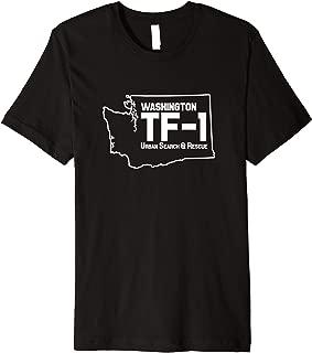 Urban Search & Rescue Washington Task Force 1 WA-TF1 Uniform Premium T-Shirt