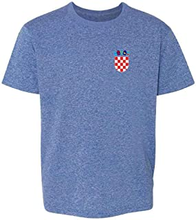 Croatia Soccer Retro National Team Sport Football Toddler Kids T-Shirt