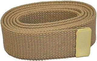 Mil-Tec 30mm USMC Army Style Military WEB BELT w// Marines Logo Buckle Coyote