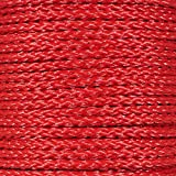 Paracord Planet Hollow Braid Polypropylene Rope – 3/8 Inch – Available in Different Colors – Lengths of 10 Feet, 25 Feet, 50 Feet, and 100 Feet