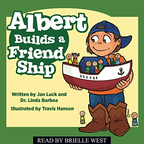 Albert Builds a Friend Ship  By  cover art