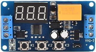 Timer Module, Adjustable Cycle Timer Control Relay Time Delay Switch Module 15mA 3V 3.7V 4.5v 5v 6v 7.4V -40℃~85℃ for LED Belts DC Motor