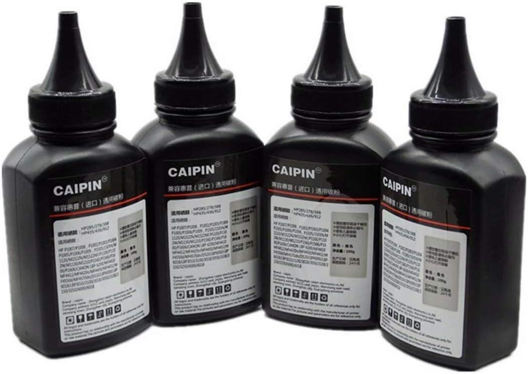 100G Original Black Refill Printer Toner Powder Kit for Canon MF5530 MF5550 MF5730 MF5770 LBP3200 LaserClass 2050 2060 L4000 Laser Toner Power Printer 100g//Bottle,1 Pack