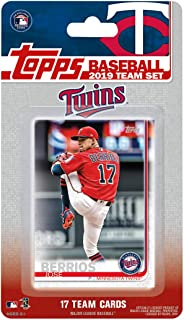 Minnesota Twins 2019 Topps Factory Sealed Special Edition 17 Card Team Set with Jose Berrios and Miguel Sano Plus