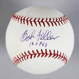 Bob Feller Signed Baseball - - & Inscribed