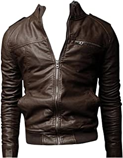 919b052172 Amazon.it: giubbotto ecopelle uomo - XL / Uomo: Abbigliamento