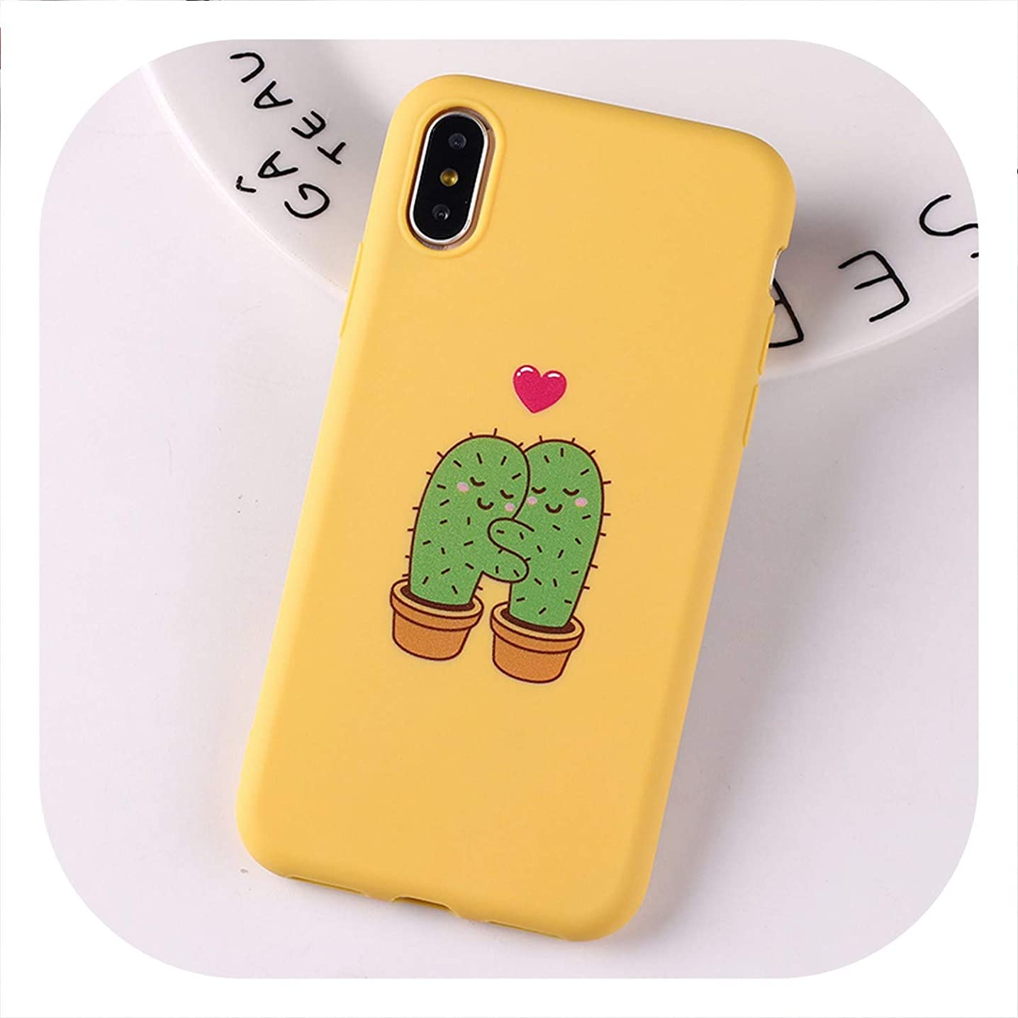 Coque Princess Crown Donuts Space Pink Cactus Cat Cute for iPhone 6S 5S SE 8 8Plus X 7 7Plus XS Max Soft TPU Silicone Candy Case,9,for iPhone XR