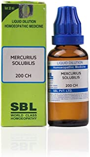 SBL Homeopathic Mercurius Solubilis (200 CH) (30 ML) by Exportdeals