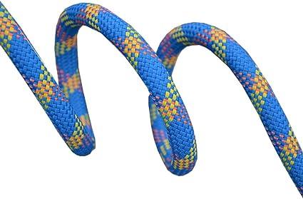 ZHWNGXO Cuerda de Alpinismo, Cuerda estática 11mm Azul fácil ...
