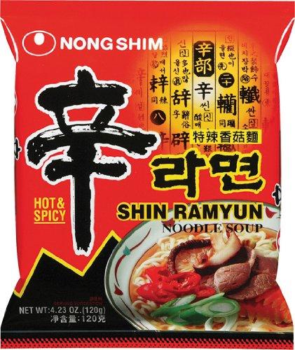 5er-Pack Nong Shim [ 5 x 120g ] Shin Ramyun GOURMET SPICY Instant Nudeln