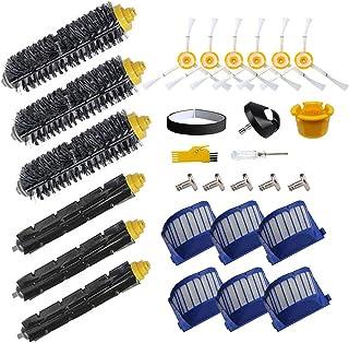 Kit d'accessoires MIKONG pour iRobot Roomba 692 671 605 694 650 691 606 696 620 604 675 Pièces de rechange pour aspirateur...