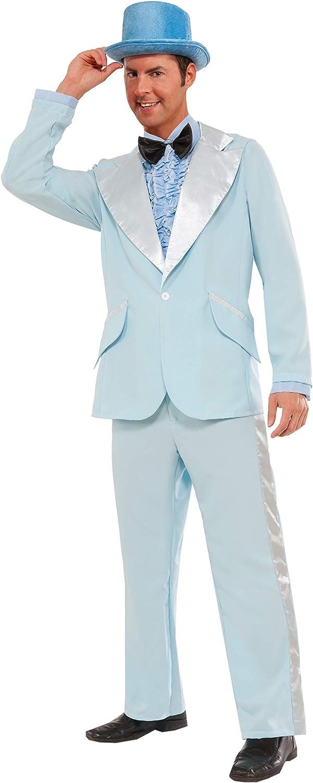 Forum Novelties Men's Popular overseas Instant 50's Costume 25% OFF Tuxedo Zip-Up