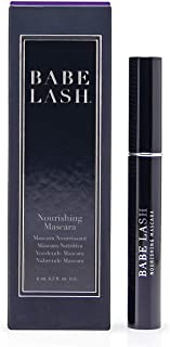Babe Lash Enriching Mascara - Black, Smudge Proof, Long Lasting & No Clump Formula infused with Peptides & Herbal Extracts - Curved brush coats each lash thoroughly to add volume - Perfect for Eye Mak