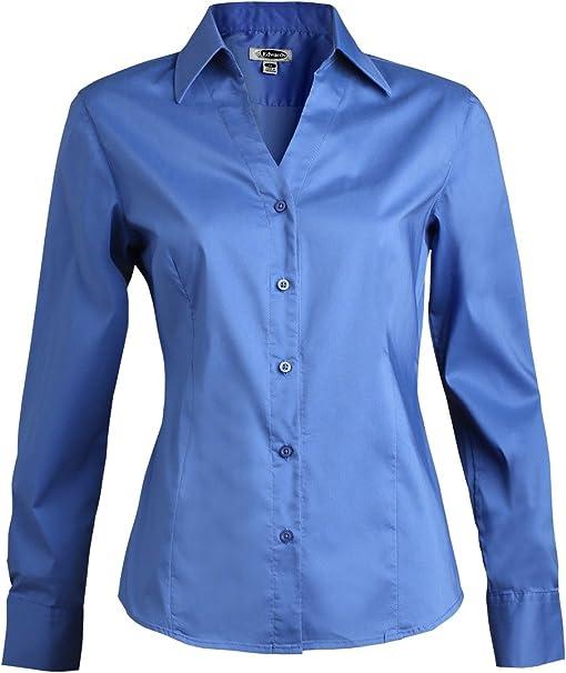 Stretch camisa stretchhemd gummiartig Stretch blouse tamaño todos los tamaños