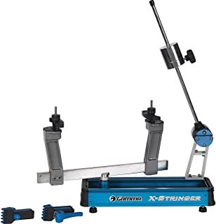 Gamma X-Stringer Tennis Racquet Stringing Machine: Tabletop Racket String Machine with Tools and Accessories - Tennis, Squ...