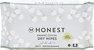 Sponsored Ad - The Honest Company Organic Cotton Dry Wipes, 48 Count