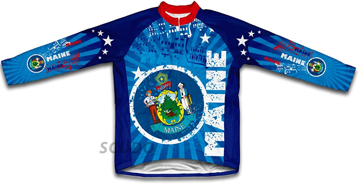 Maine Winter Thermal Cycling Jersey for Women