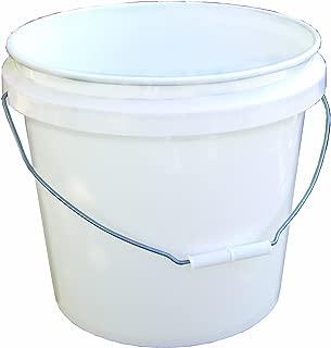 Encore 30448 Industrial Bucket, 3.5-Gallon, White