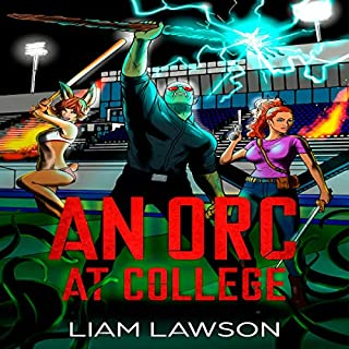 An Orc at College: A Contemporary Sword and Sorcery Harem Fantasy                   By:                                                                                                                                 Liam Lawson                               Narrated by:                                                                                                                                 Veronica Heart                      Length: 4 hrs and 19 mins     26 ratings     Overall 4.3