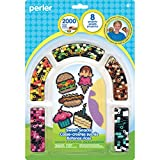Perler Beads 'Sweet Snacks' Fuse Bead Activity Kit for Kids Crafts, 2003 pcs