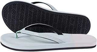 Women's ESSNTLS Vegan Flip Flops [Reused Tire Sole, Natural Rubber Arch Support, ENVRO Strap, Waterproof]