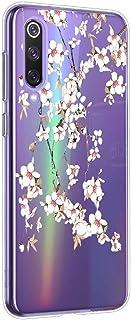Oihxse Mandala Flores Encaje Patrón Serie Case Compatible con Huawei P9 Funda TPU Silicona Suave Protector Ultra Slim Anti...