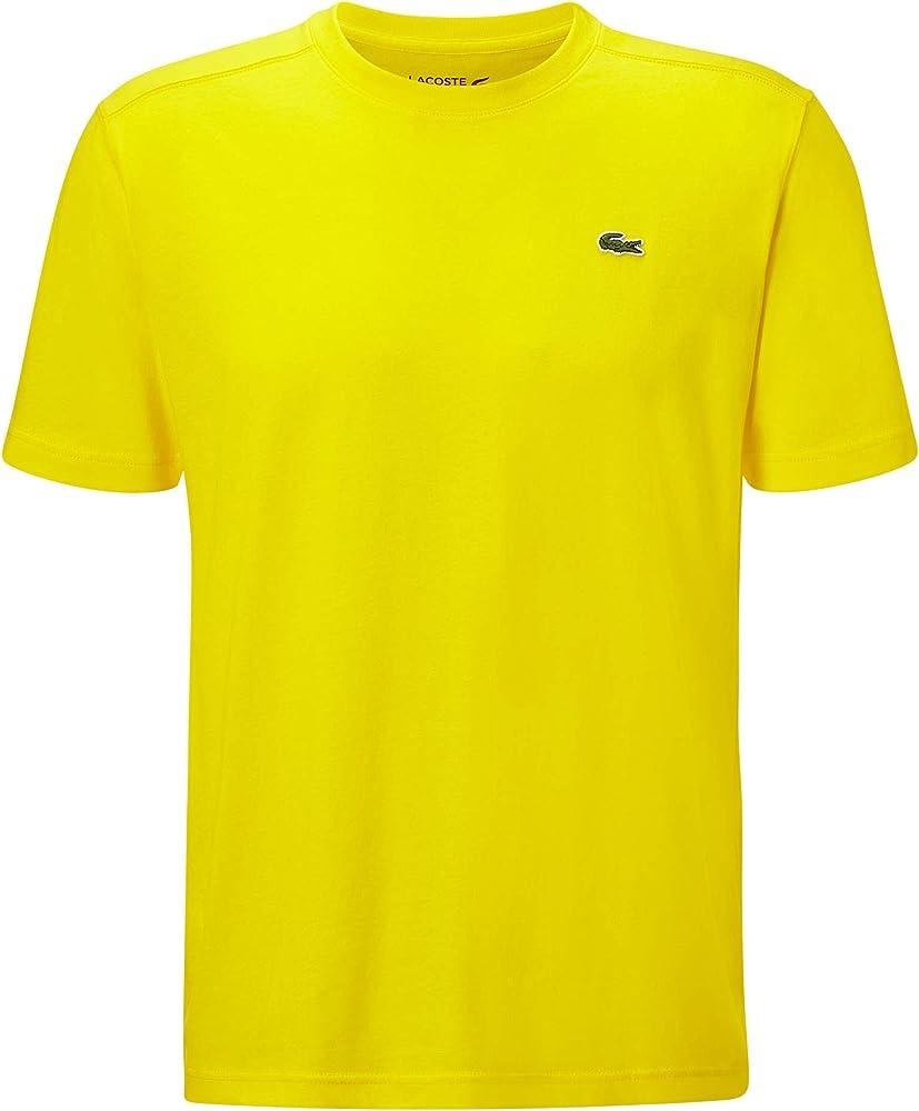 Lacoste t-shirt maglietta da uomo a maniche corte 100% cotone TH2038