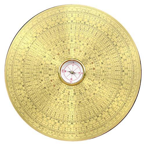 MEELLION Feng Shui Bagua Kompass Kompass Feng Shui Platte hochpräzise Portablethree-in-One Integrierte Platte Dekoration Handwerk Geomantischer Kompass Love of a Lifetime