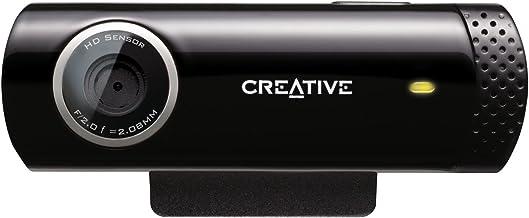 Creative Live!CAM Chat HD - Webcam HD(micrófono Incorporado), Negro