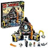 LEGO-Ninjago Il Covo Vulcanico di Garmadon, Multicolore, 70631