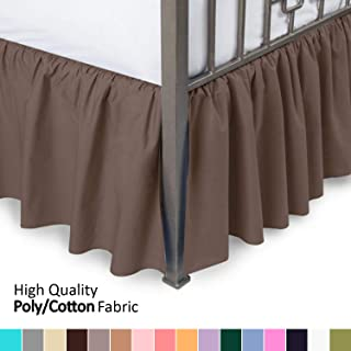 Best brown bed skirt Reviews
