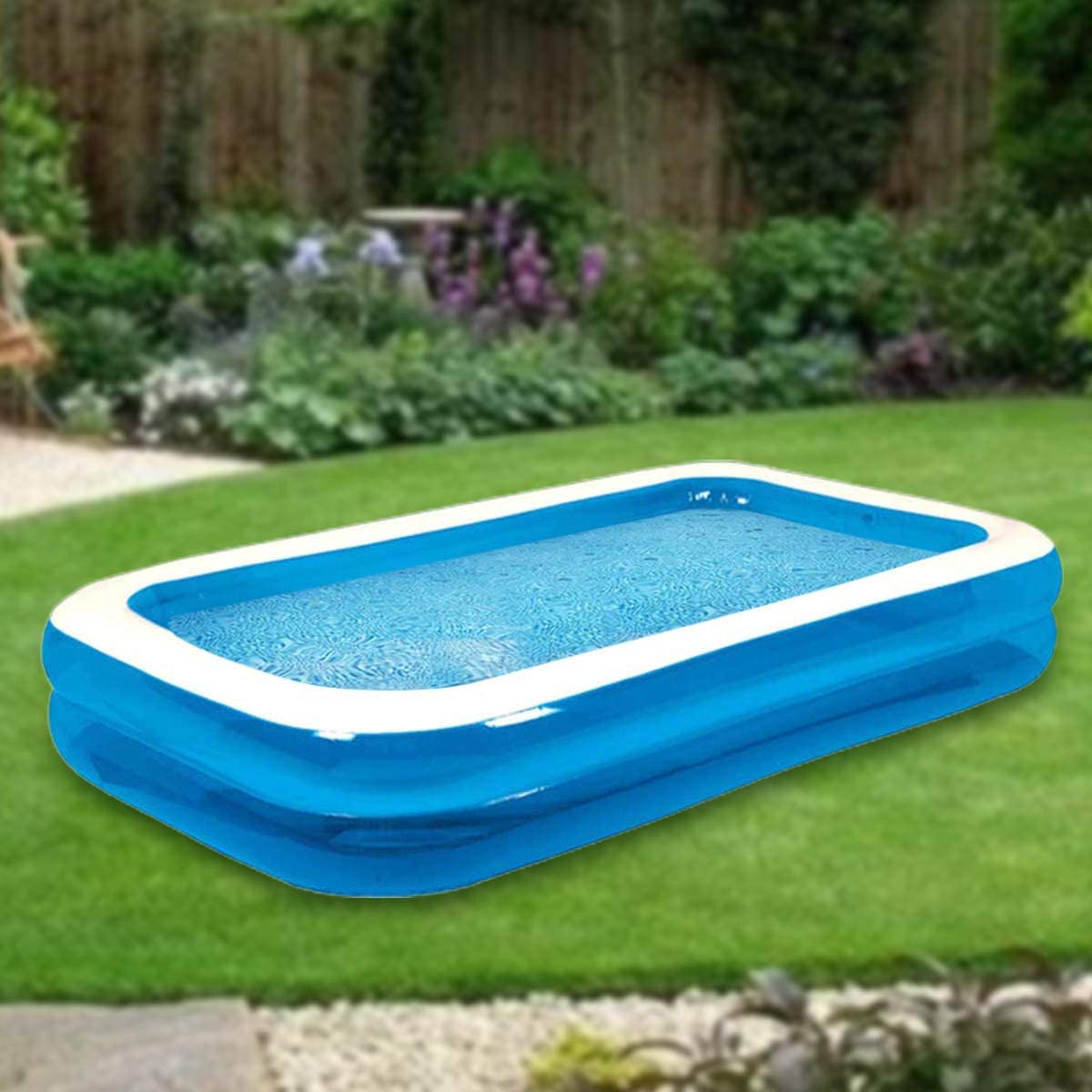 GETNOIVAS Inflatable Pool Great interest Family Swimming Inflata Kids Mail order for