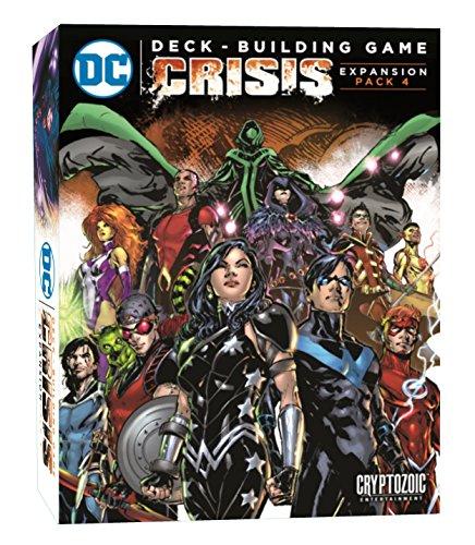 Juegos de cartas Editorial: Crypt ozoic Entertainment Tema área: DC Comics