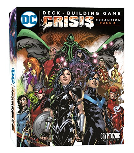 Unbekannt Cryptozoic Entertainment CRY02680 DC Deckbuilding Game: Crisis Expansion, Mehrfarbig