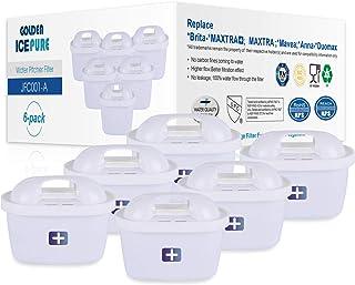 comprar comparacion GOLDEN ICEPURE Filtro de Agua de Repuesto para Brita Maxtra+, Brita Maxtra, Mavea, Anna Duomax (6 Unidades) (6)