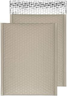 250 x 180 mm formato C5+ Buste imbottite con bolle daria colore: grigio tempesta confezione da 100 Blake Purely Packaging MTSG250
