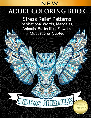 ADULT COLORING BOOK: Stress Relief...