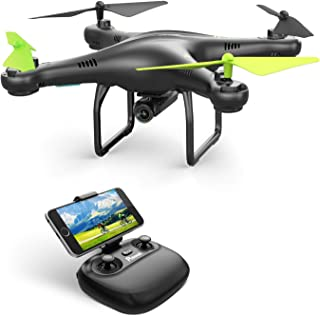 Potensic U42 WiFi FPV Drone with 720P HD Camera , 360°Flip, RTF Remote Control Drone for Beginners with Altitude Hold, Gravity Sensor, Healess Mode, One key Take Off/Landing, Compatible with VR Glass