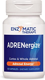 Enzymatic Therapy ADRENergize®, Cortex & Whole Adrenal, 50 Capsules (04085)