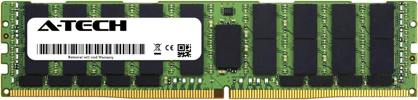 A-Tech 128GB Module 100% quality warranty! for Dell PowerEdge R740xd PC4-21300 2 Ranking TOP9 DDR4 -
