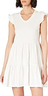 Only womens ONLMAY LIFE CAP SLEEVES FRILL Dress