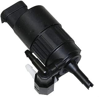 Pompa lavavetri parabrezza lavacristallo C17053 compatibile con 6 934 159//6712 6 934 159//6712 7 302 589//7 302 589 Aerzetix