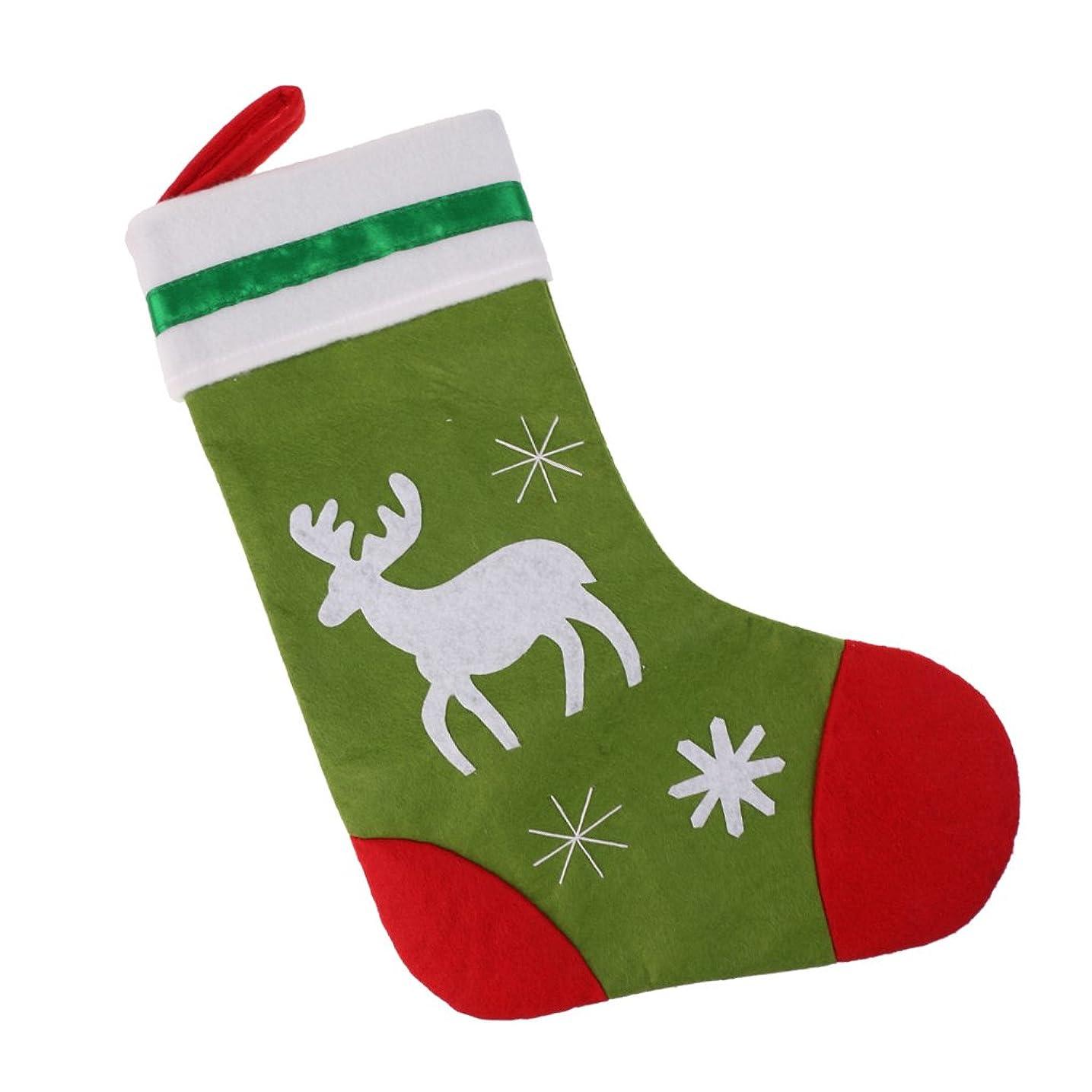 包囲洗剤宅配便SONONIA クリスマス トナカイデザイン 靴下 サンタクロース ギフト お菓子バッグ クリスマスパーティーツリー 吊り デコレーション